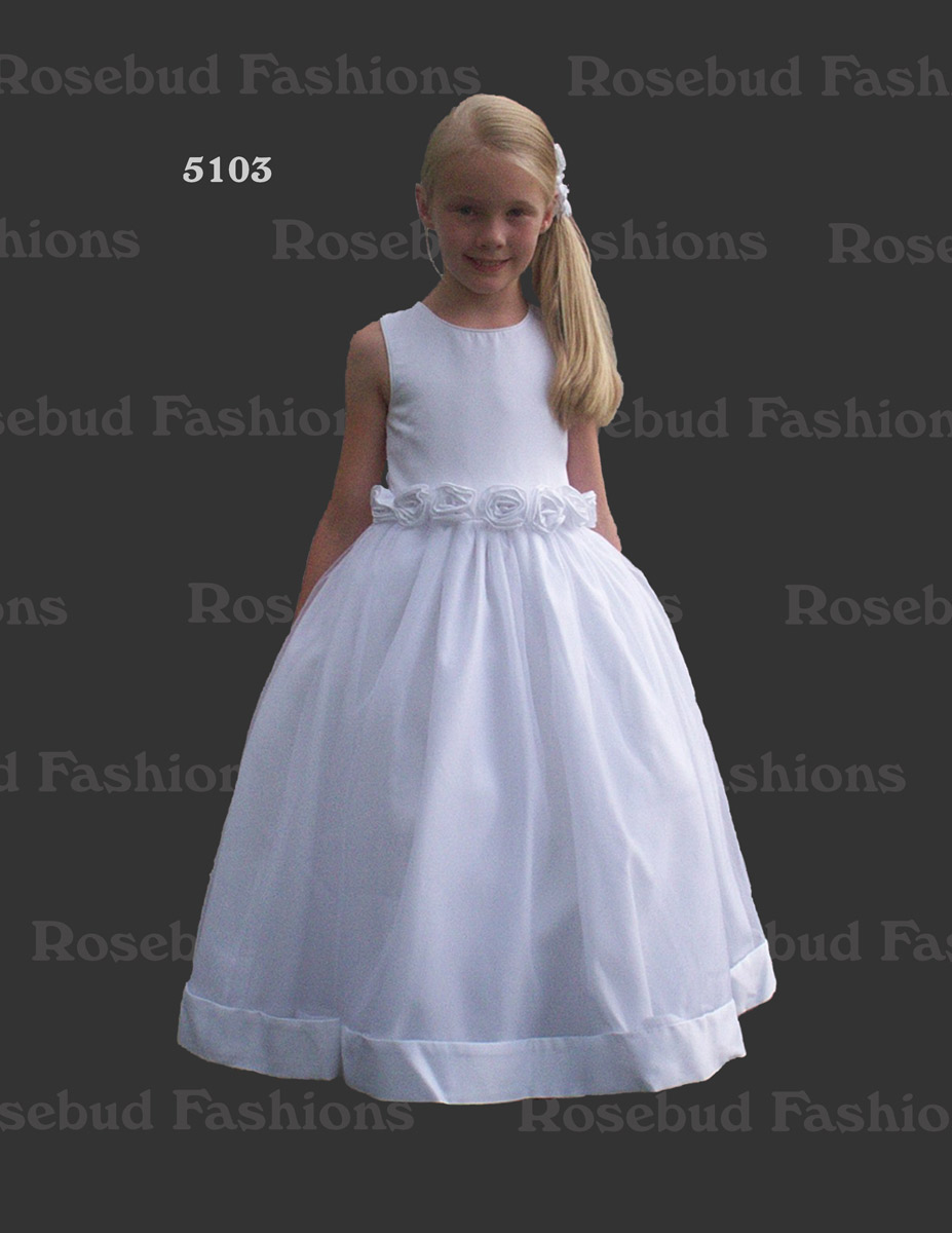 Rosebud Fashions Flower Girl 5103