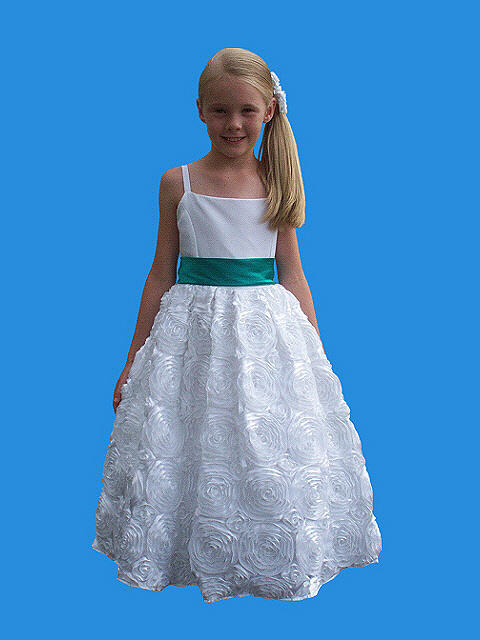 Rosebud Fashions Flower Girl 5121