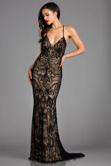 48557 Black/Nude front