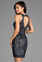 48638 Navy/Nude back
