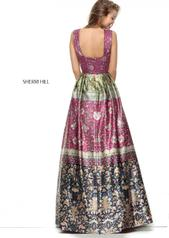 50780 Magenta/Green/Multi back
