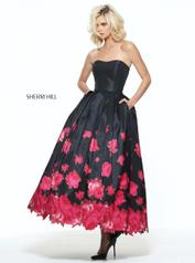 51056 Black/Red Print front