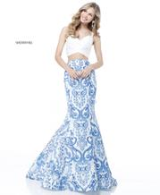 51681 Ivory/Blue front