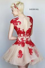11153 Red/Nude back