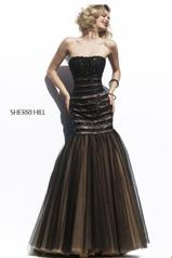11154 Black/Nude front