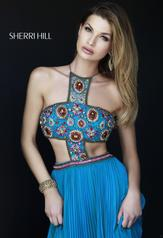 11206 Light Blue/Multi detail
