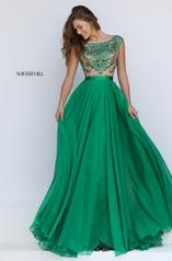 11332 Emerald/Nude front