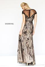 21262 Black/Nude back