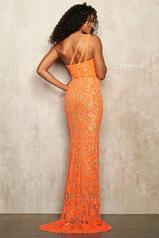 54250 Nude/Neon Orange back