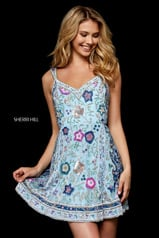 51489 Light Blue/Multi front