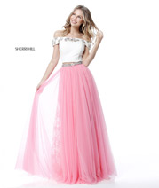 51655 Ivory/Pink front