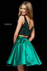52237 Black/Emerald back