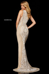 52369 Nude/Ivory/Silver back