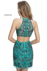 51282 Teal/Gunmetal back