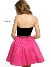 51510 Black/Fuchsia back