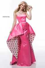 52054 Candy Pink/Ivory/Black front