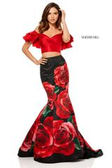 52470 Red/Black Print front