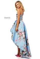 52489 Light Blue Print back