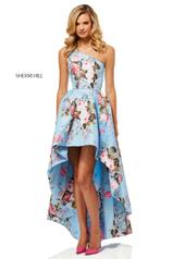 52489 Light Blue Print front