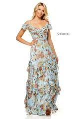 52533 Light Blue Print front