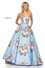 52553 Light Blue Print front
