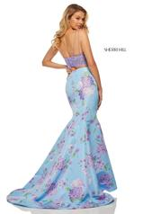 52635 Lilac/Light Blue Print back