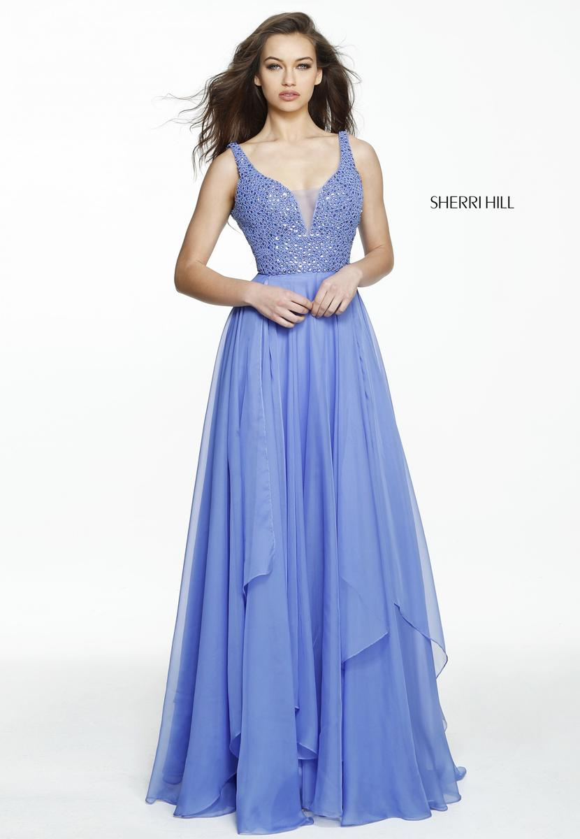 Sherri Hill 2018 Prom Dresses with Straps