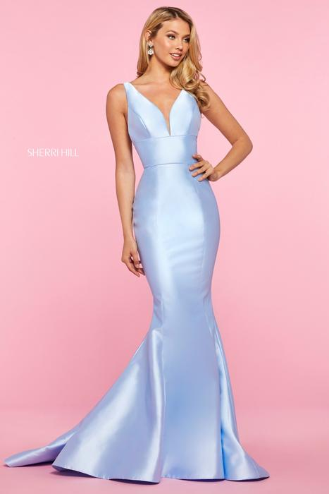 Sherri Hill - Satin Gown