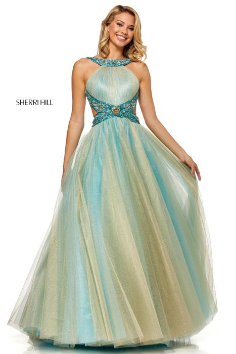 d7ba1706f50 Sherri Hill Prom Bedazzled Bridal and Formal