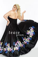 TE1820 Black/Floral back