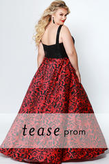 TE1914 Red Shimmer back