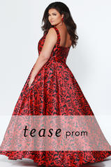 TE1915 Red Shimmer back