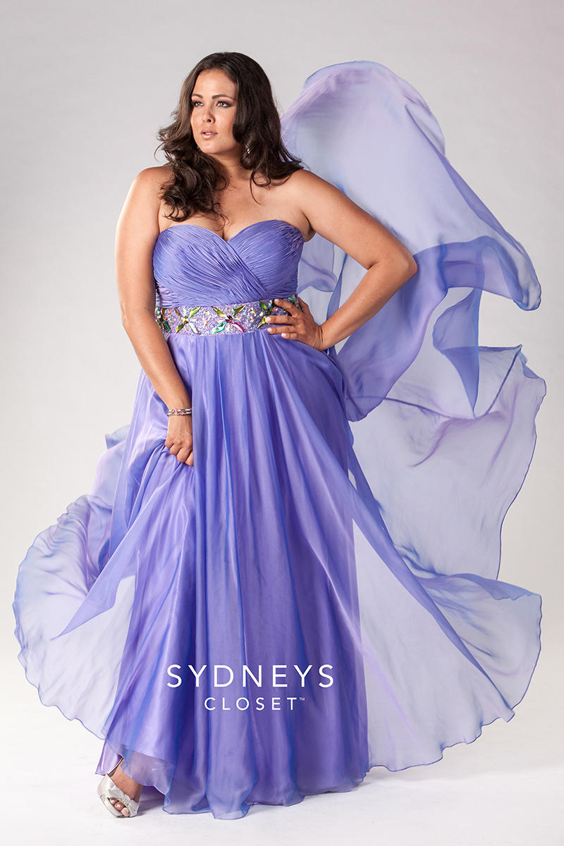 Sydney\'s Closet Plus Size Prom SC7129 Mimi\'s Bridal, Prom, & Formal ...