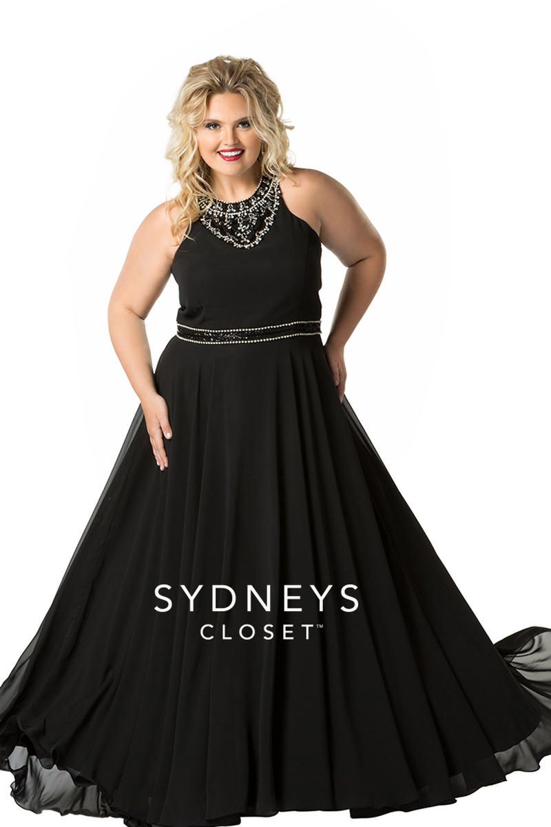 Sydney\'s Closet Plus Size Prom SC7252 PROM USA BRIDAL & FORMAL WEAR ...