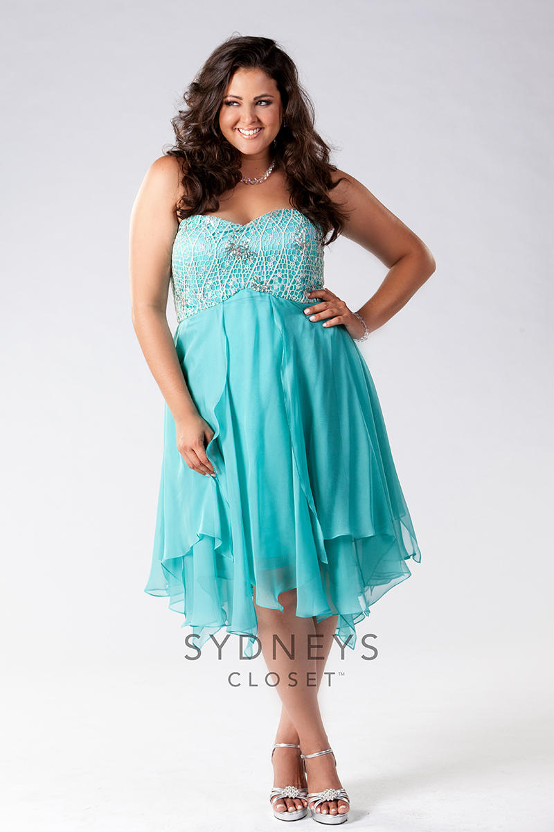 Sydney\'s Closet Plus Size Prom SC8040 Mimi\'s Bridal, Prom, & Formal ...