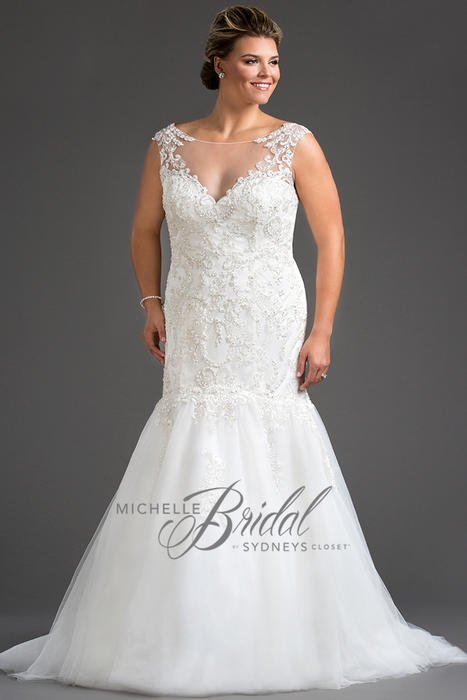 Plus size bridal