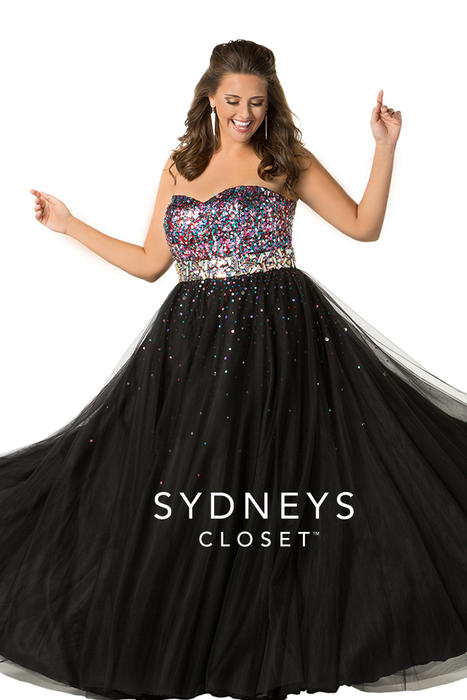 Sydneys Closet 2018 Prom Dresses Bridal Gowns Plus Size Dresses