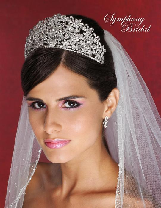 Symphony Bridal - RHINSTONE CROWN