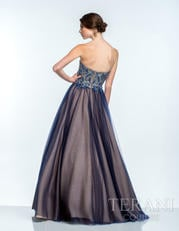 151P0088 Navy/Nude back