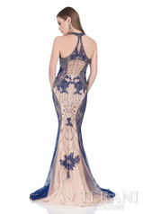 1611E0196 Navy Nude back