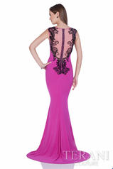 1613P0631 Fuchsia Black back