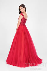 1711P2864 Red/Nude back