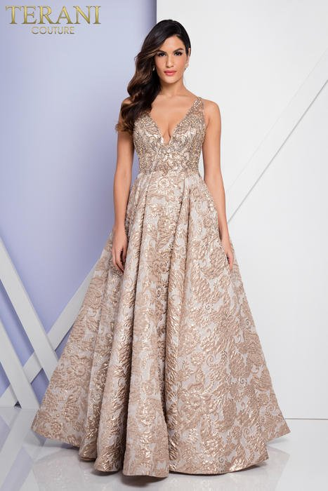 Terani - Embroidered Ball Gown