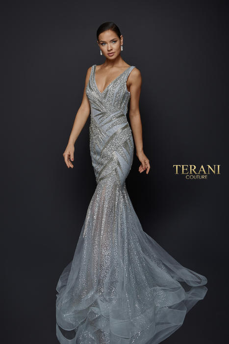 Terani - Glitter Mermaid Gown