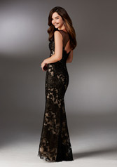 71525 Black/Nude back