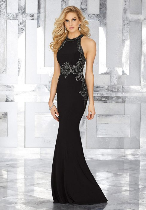 MGNY for Morilee - Hater Beaded Top Gown
