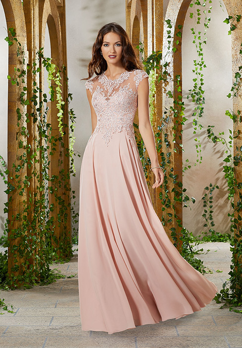 MGNY for Morilee - Mother of the Bride/Groom Embroidered Gown
