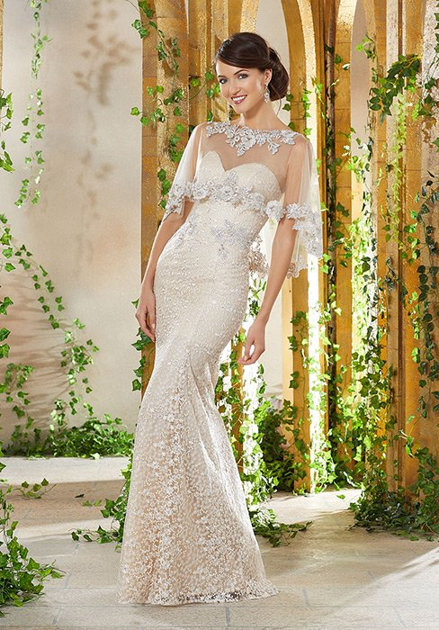 MGNY for Morilee - Mother of the Bride/Groom Lace Gown